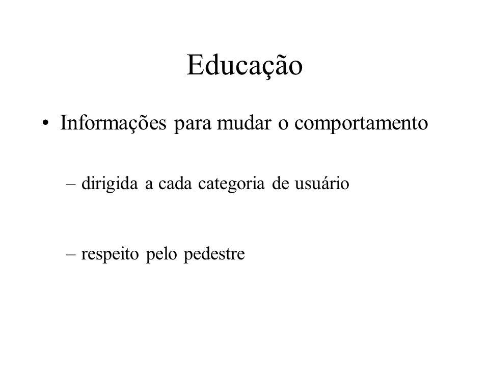Educação Informações para mudar o comportamento