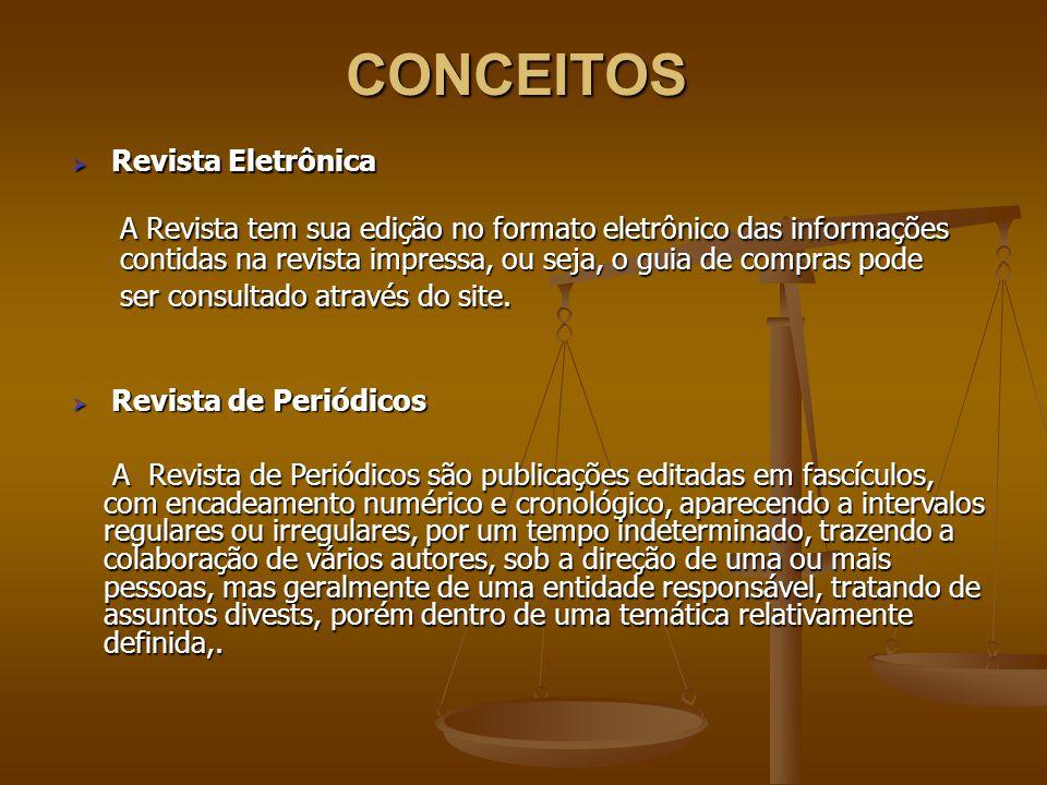 CONCEITOS Revista Eletrônica.