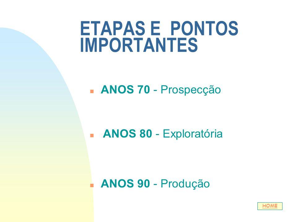 ETAPAS E PONTOS IMPORTANTES