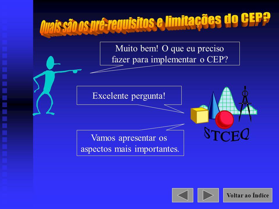 STCEQ Quais são os pré-requisitos e limitações do CEP