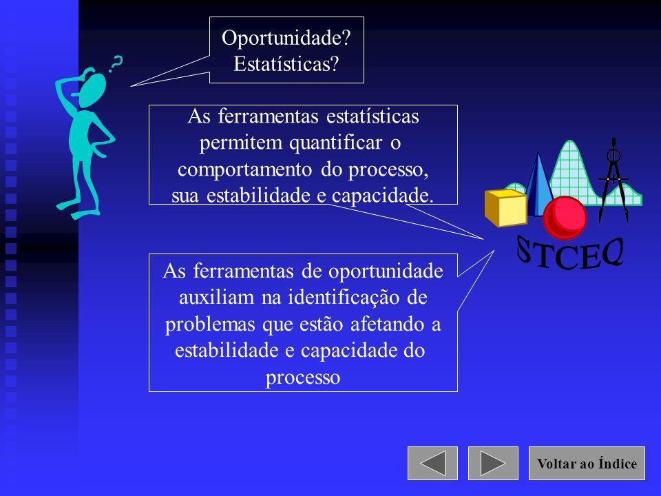STCEQ Oportunidade Estatísticas As ferramentas estatísticas