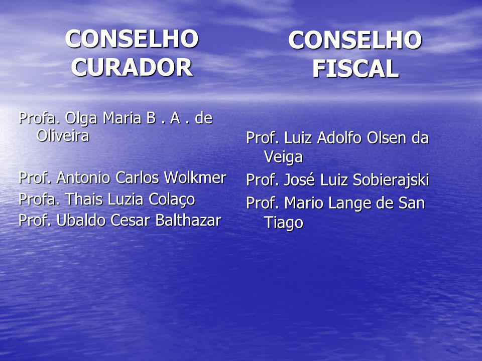 CONSELHO CURADOR CONSELHO FISCAL