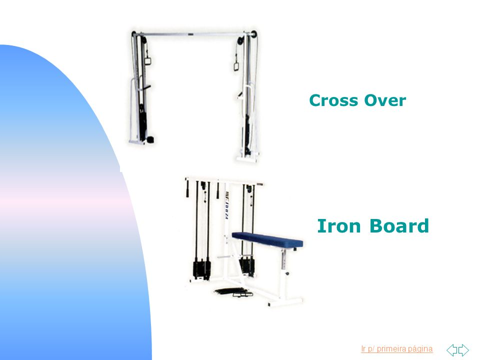 Cross Over Iron Board