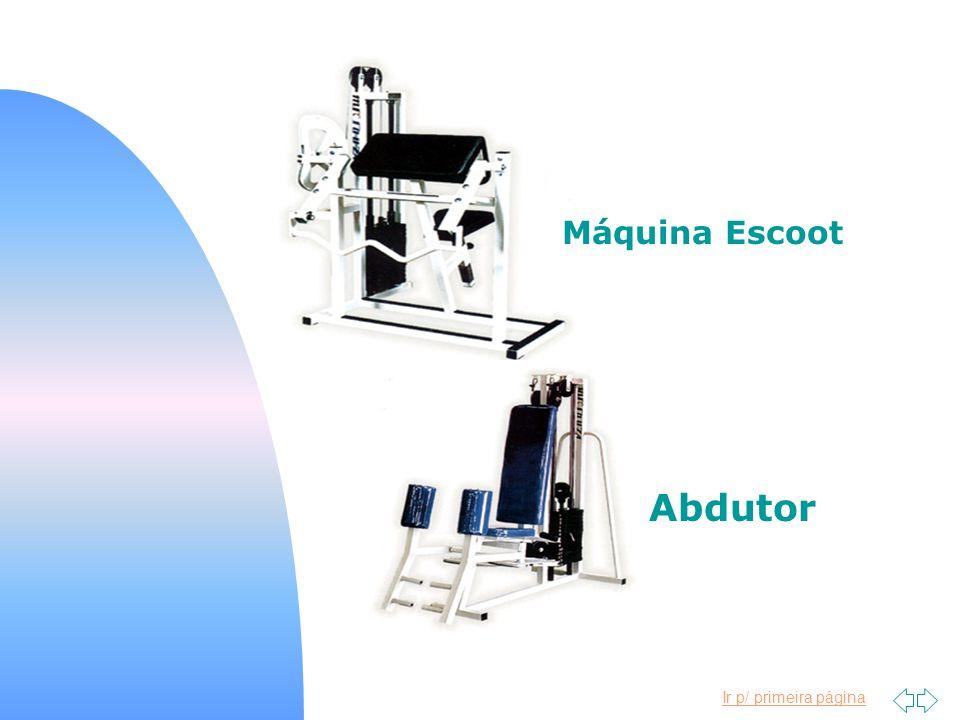 Máquina Escoot Abdutor