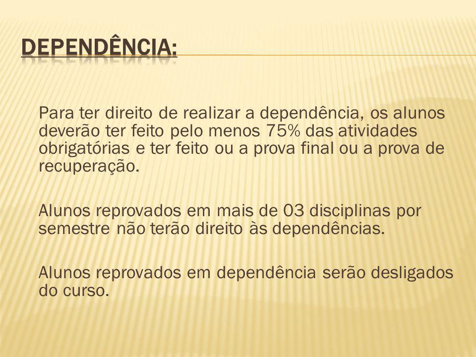 Dependência:
