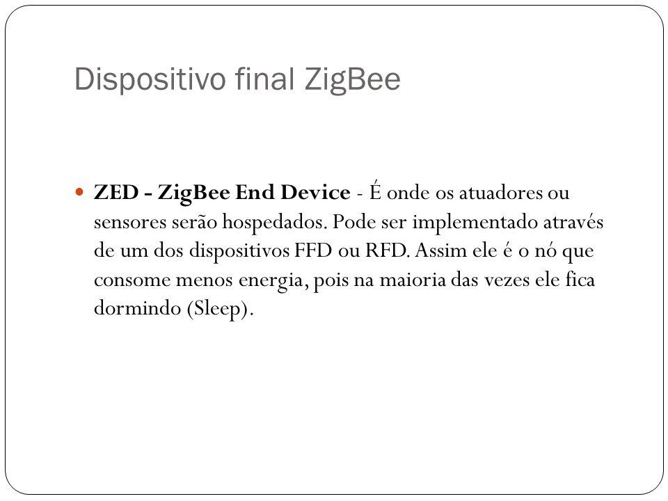 Dispositivo final ZigBee