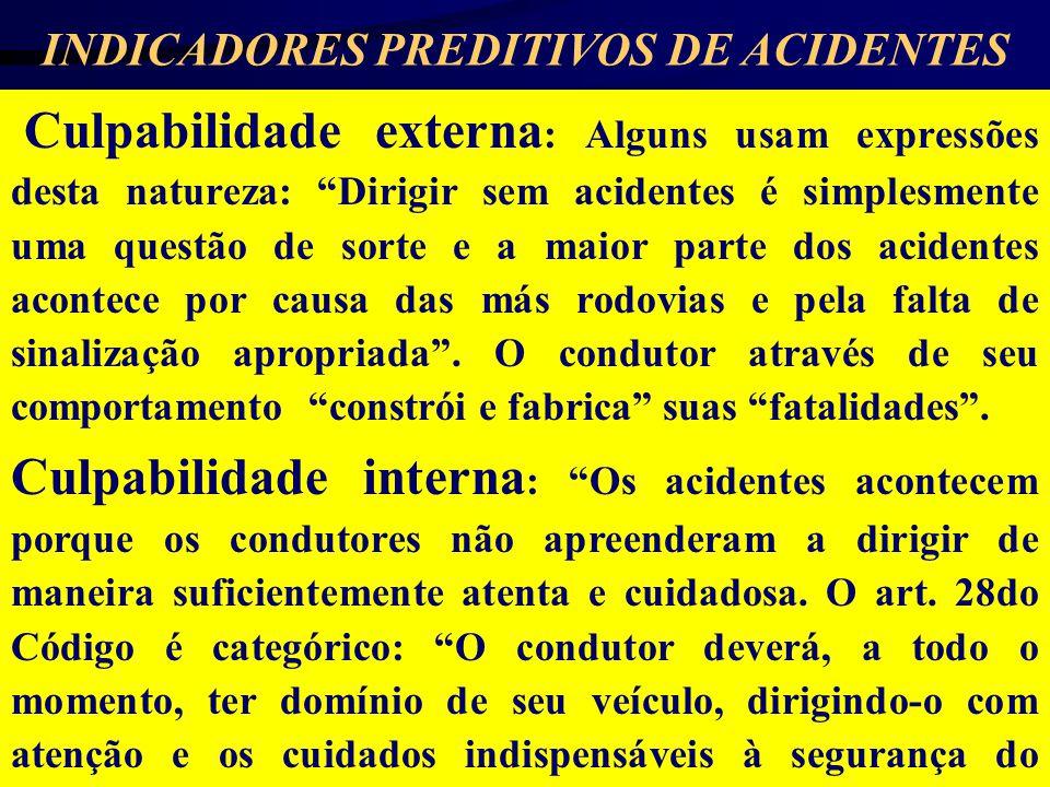 INDICADORES PREDITIVOS DE ACIDENTES
