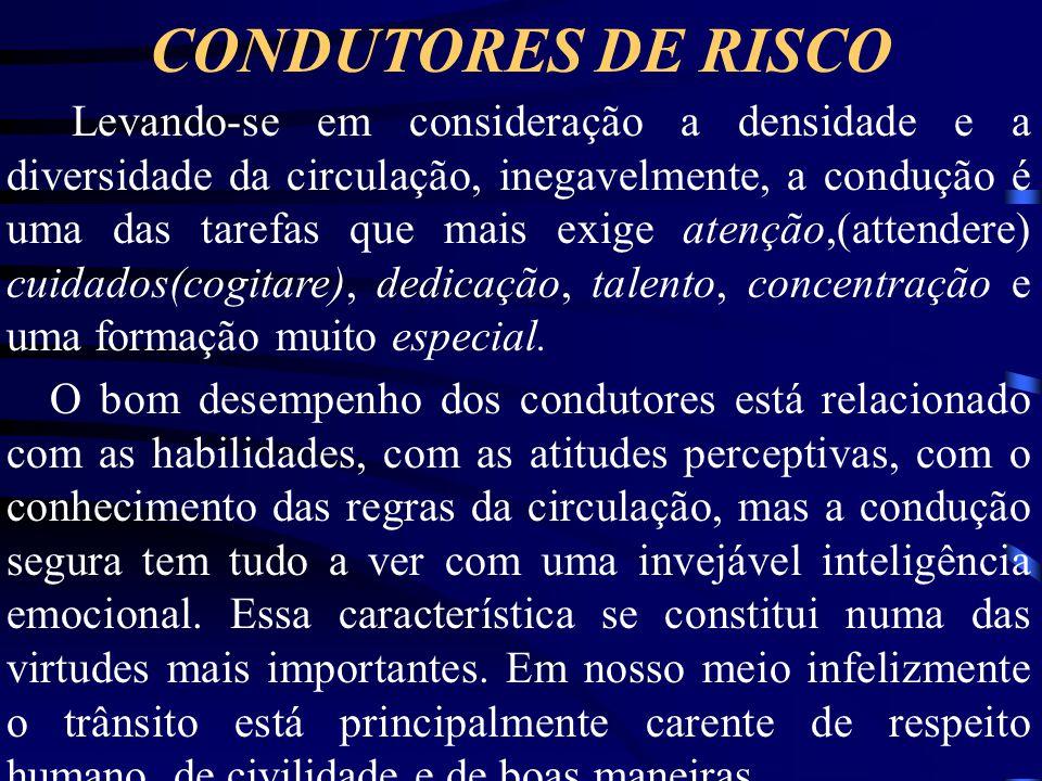 CONDUTORES DE RISCO