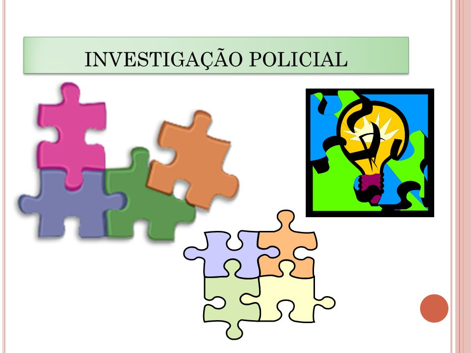 INVESTIGAÇÃO POLICIAL