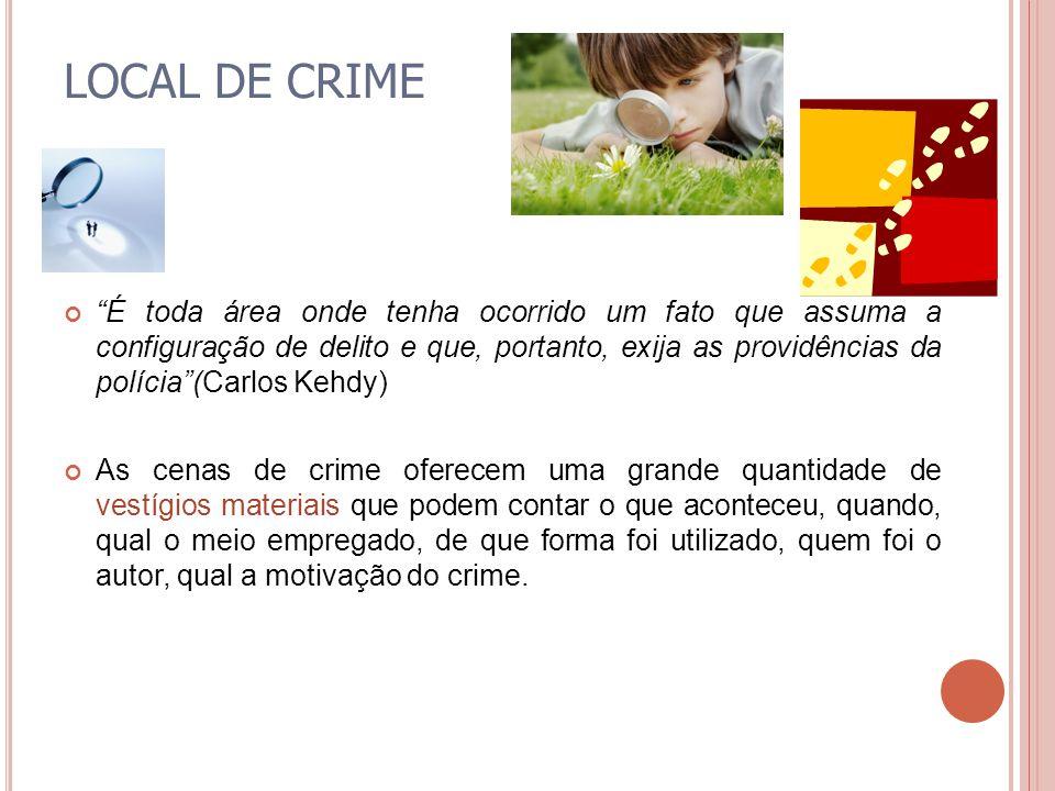 LOCAL DE CRIME