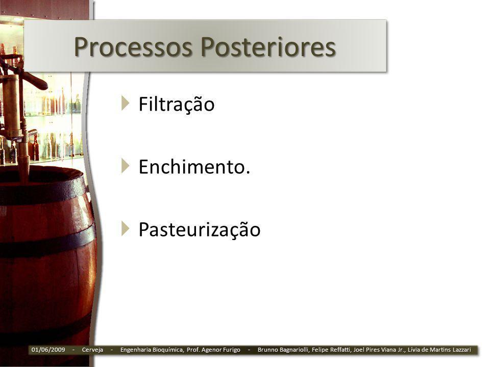 Processos Posteriores