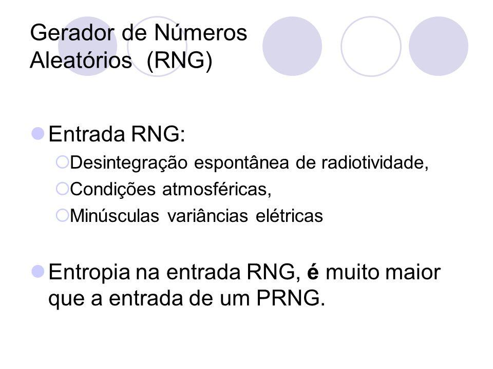 Gerador de Números Aleatórios (RNG)
