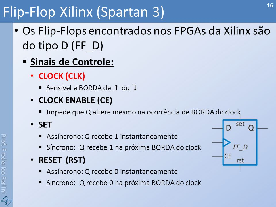 Flip-Flop Xilinx (Spartan 3)