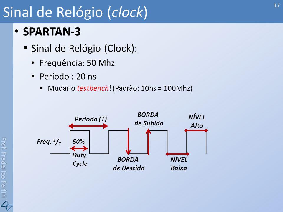 Sinal de Relógio (clock)