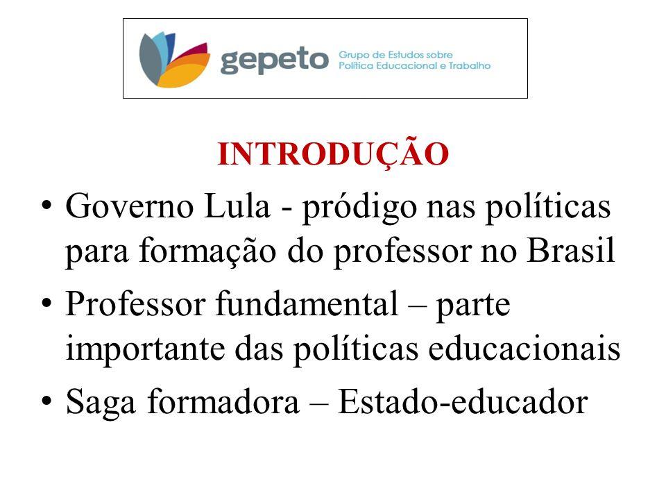 Professor fundamental – parte importante das políticas educacionais