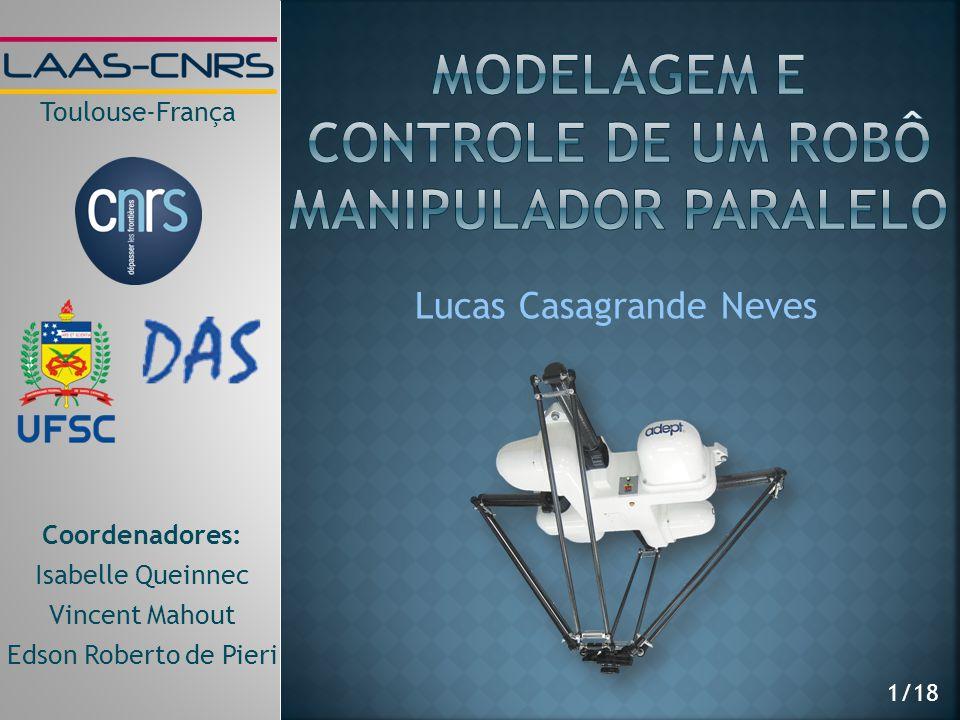 Modelagem e controle de um robô manipulador paralelo