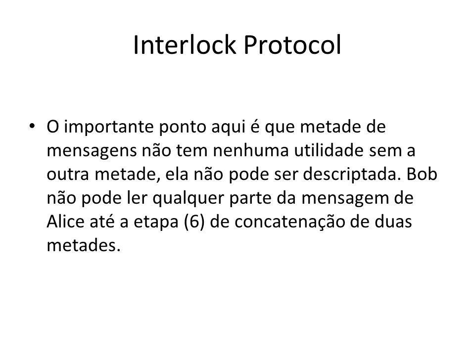 Interlock Protocol