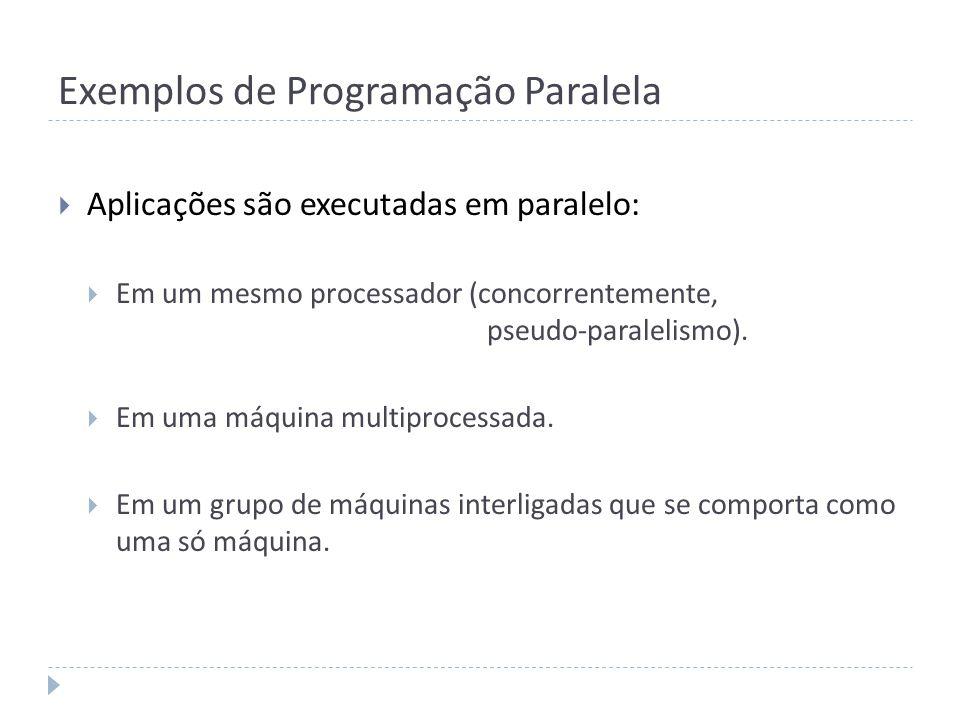 Exemplos de Programação Paralela