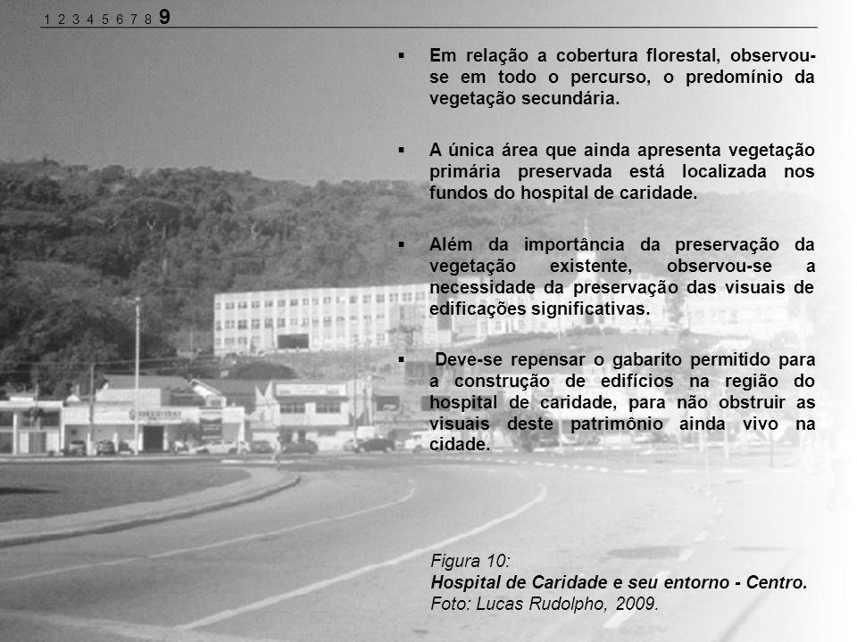 Hospital de Caridade e seu entorno - Centro.