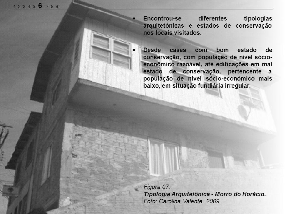 Tipologia Arquitetônica - Morro do Horácio.