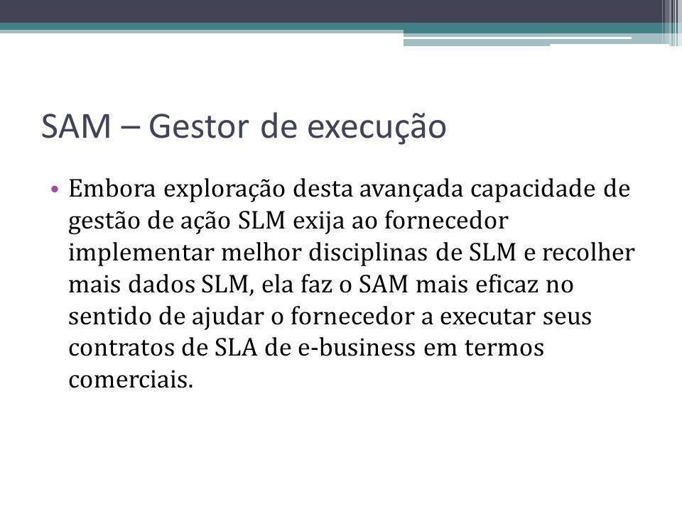 SAM – Gestor de execução