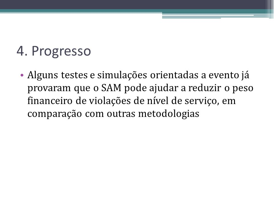 4. Progresso