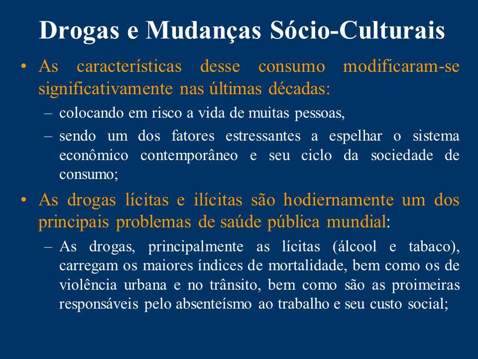 Drogas e Mudanças Sócio-Culturais