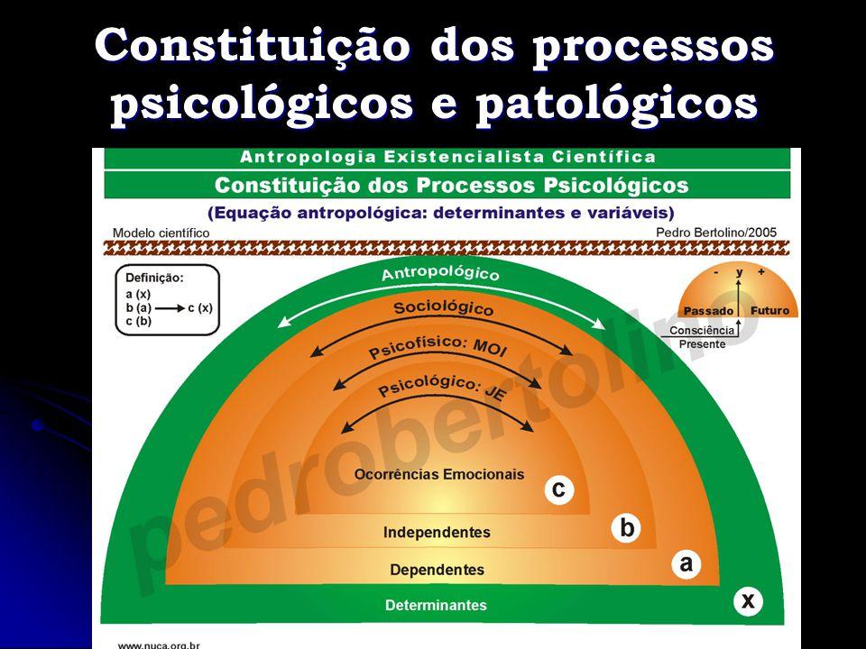 Constituição dos processos psicológicos e patológicos