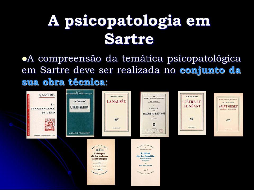 A psicopatologia em Sartre