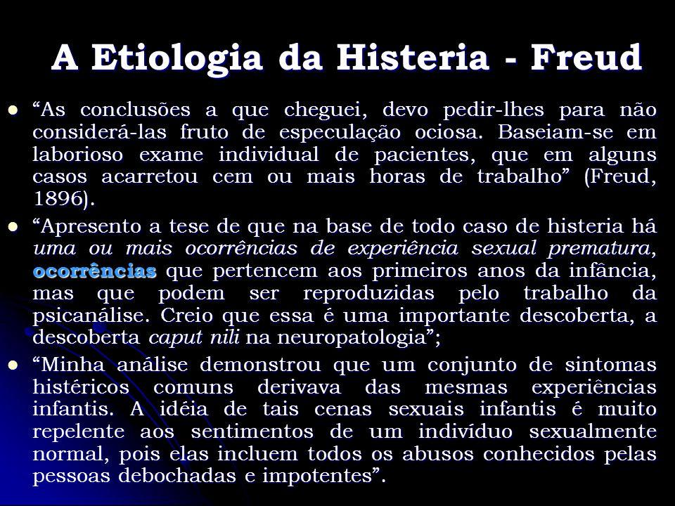 A Etiologia da Histeria - Freud