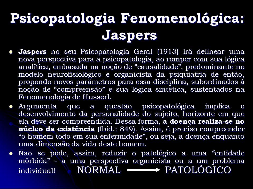 Psicopatologia Fenomenológica: Jaspers