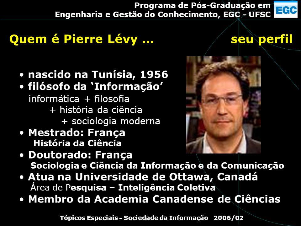 Quem é Pierre Lévy ... seu perfil