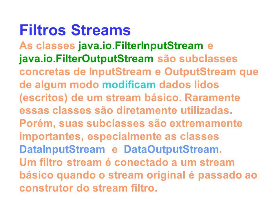 Filtros Streams