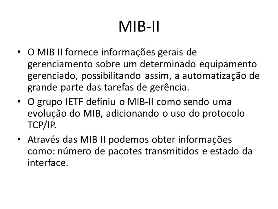 MIB-II