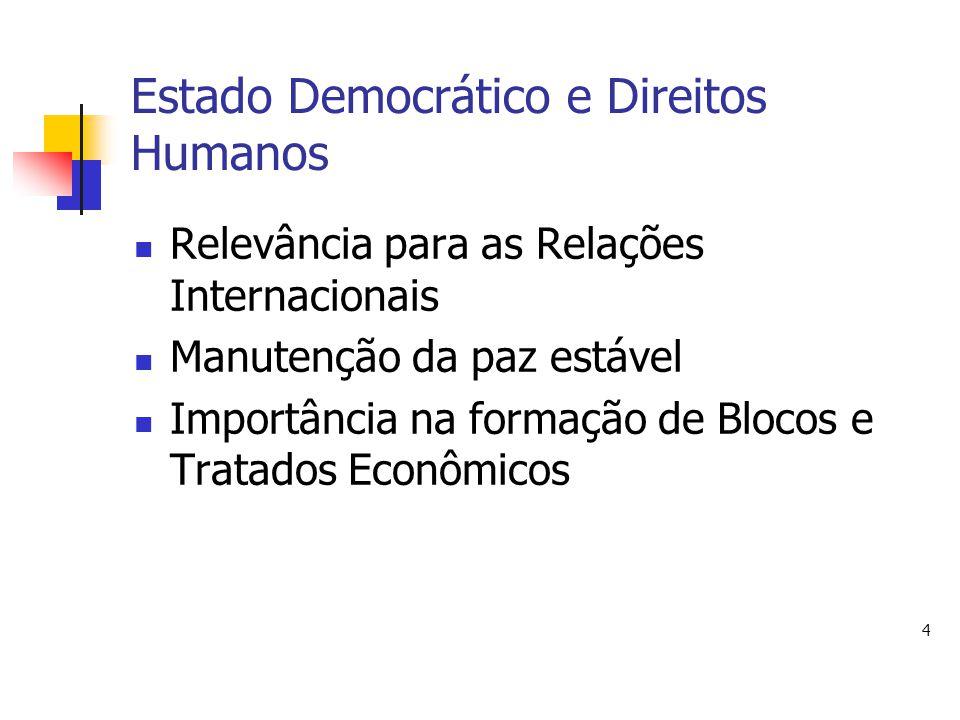 Estado Democrático e Direitos Humanos