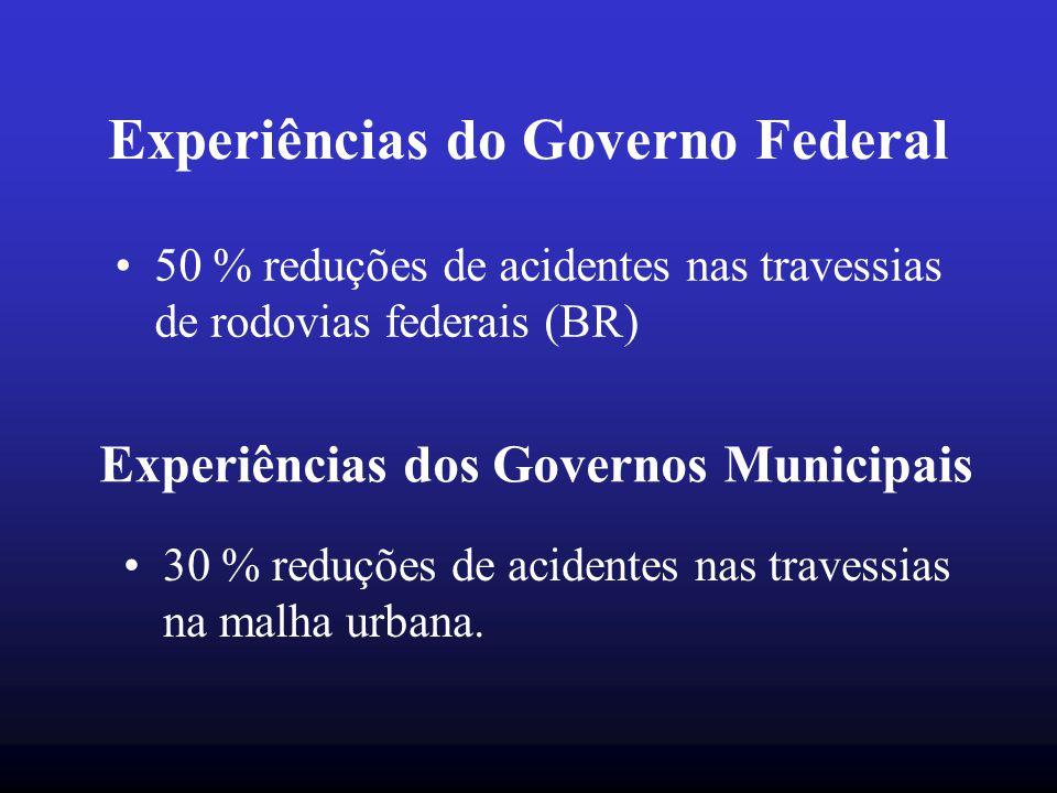 Experiências do Governo Federal