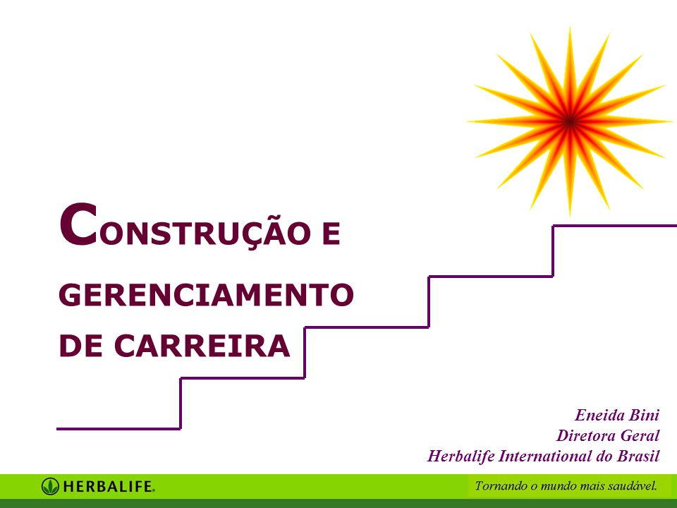CONSTRUÇÃO E GERENCIAMENTO DE CARREIRA