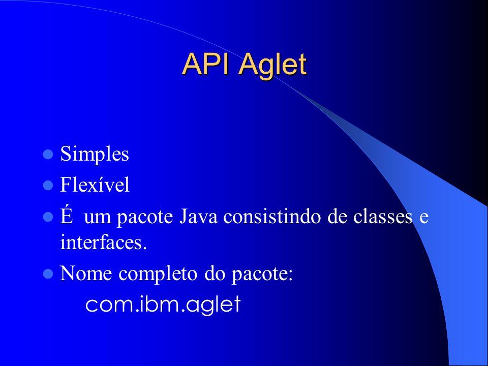 API Aglet Simples Flexível