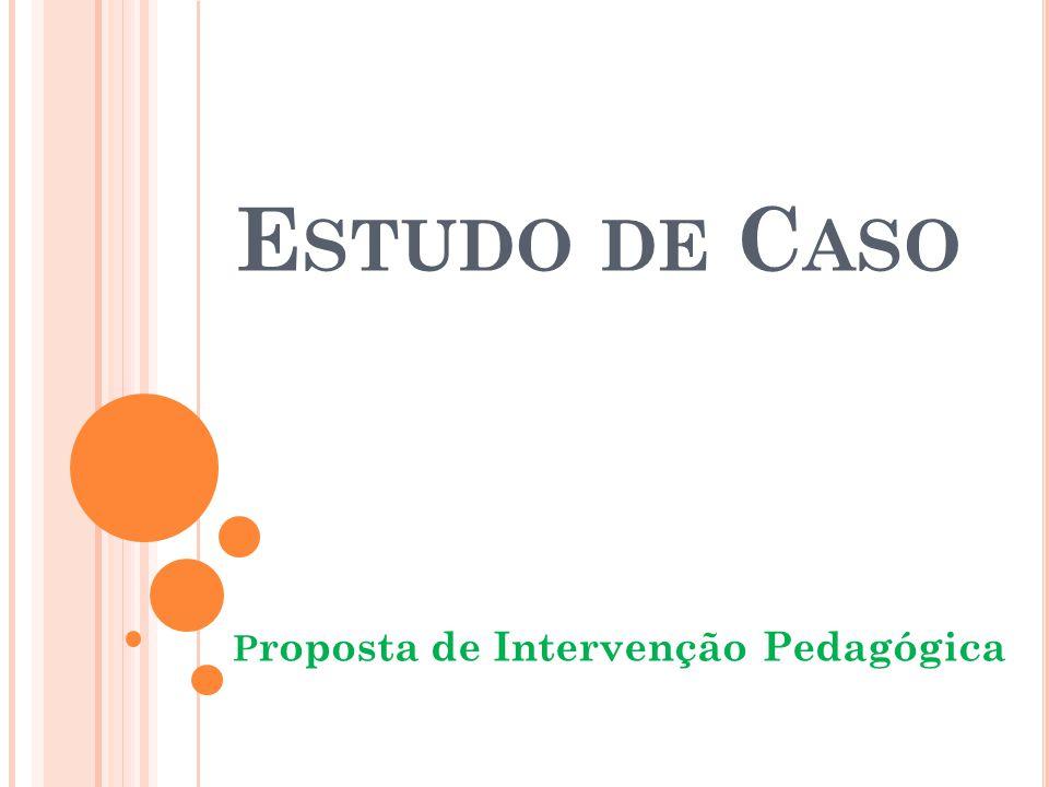 Proposta de Intervenção Pedagógica