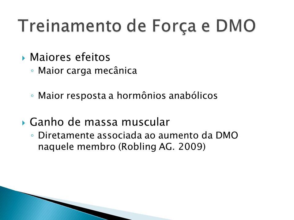 Treinamento de Força e DMO