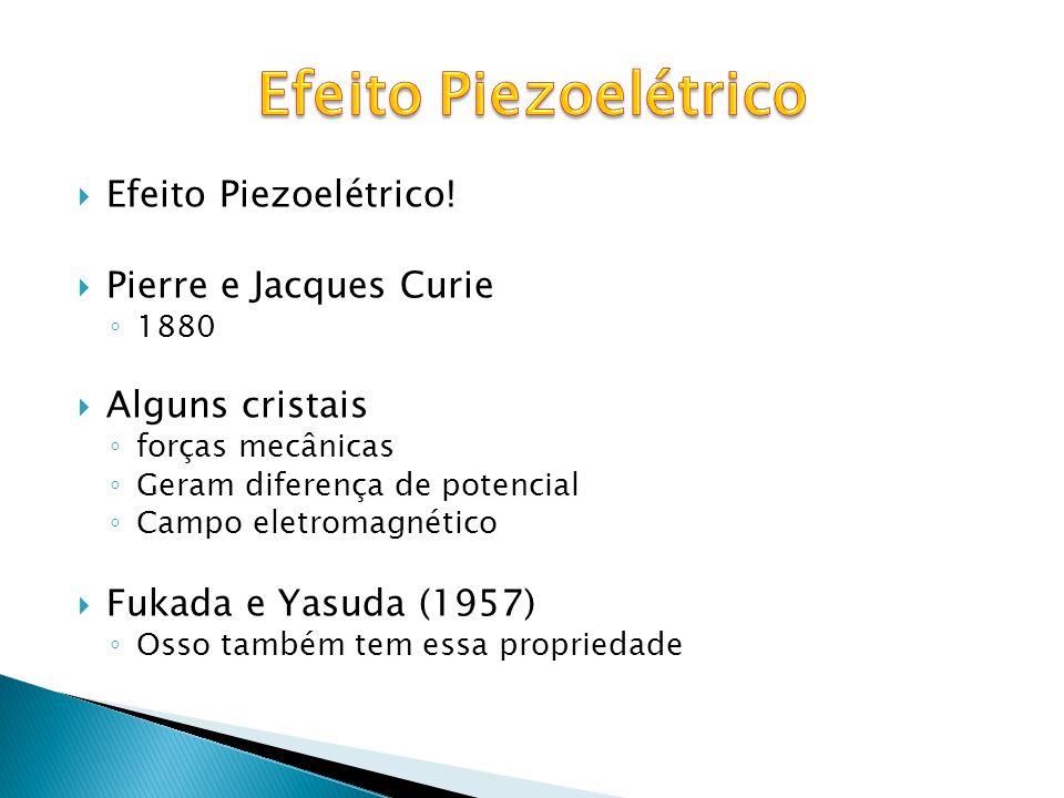 Efeito Piezoelétrico Efeito Piezoelétrico! Pierre e Jacques Curie
