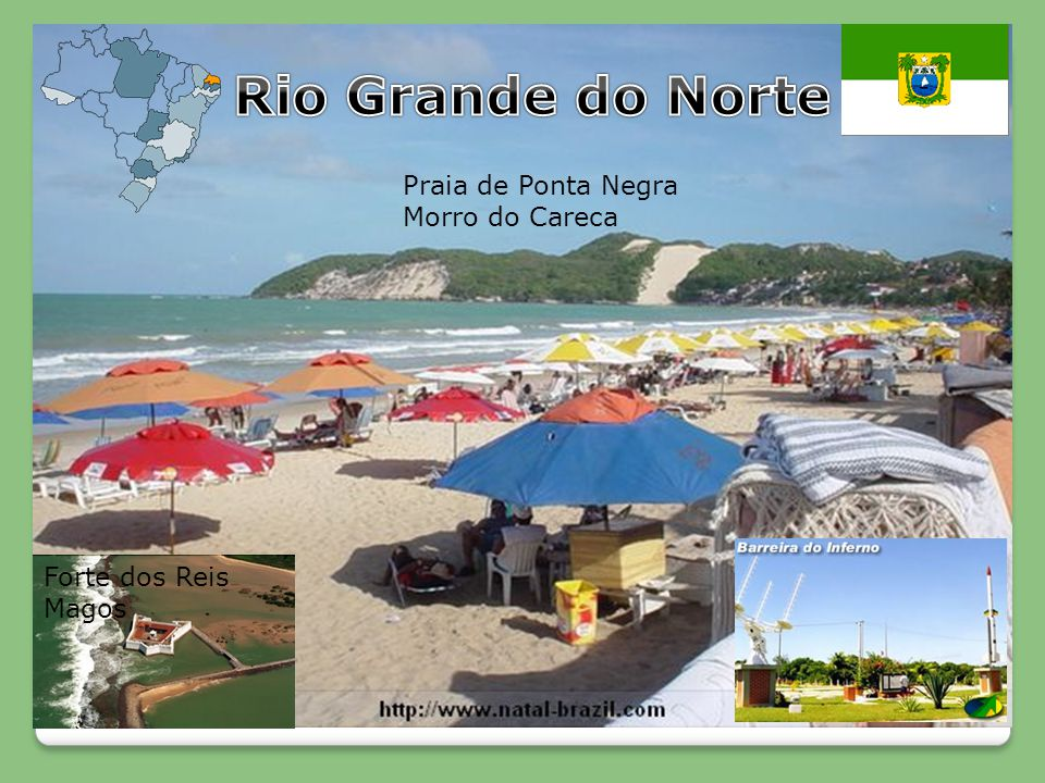 Rio Grande do Norte Praia de Ponta Negra Morro do Careca