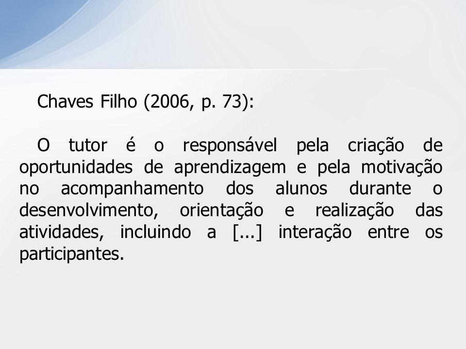Chaves Filho (2006, p.