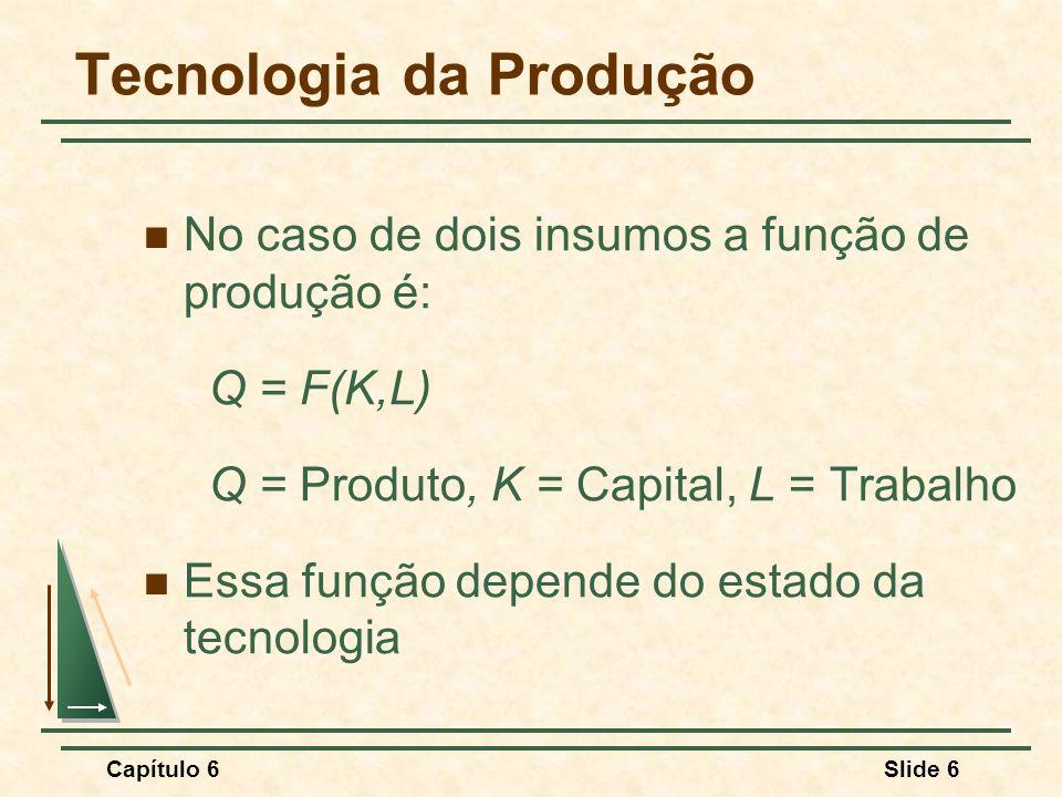 Tecnologia da Produção