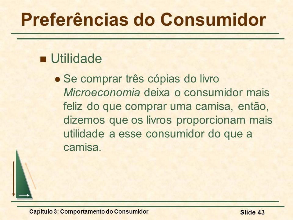Preferências do Consumidor