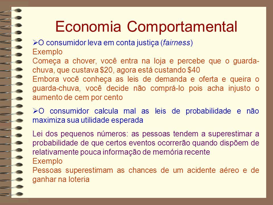 Economia Comportamental
