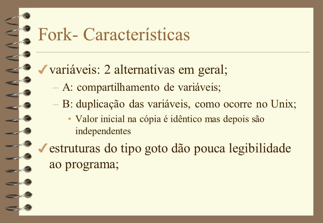 Fork- Características