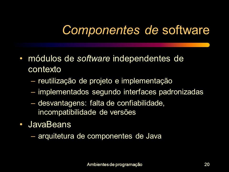 Componentes de software