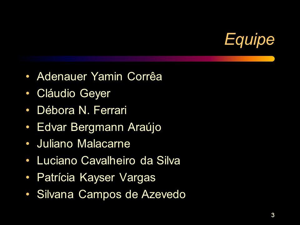Equipe Adenauer Yamin Corrêa Cláudio Geyer Débora N. Ferrari