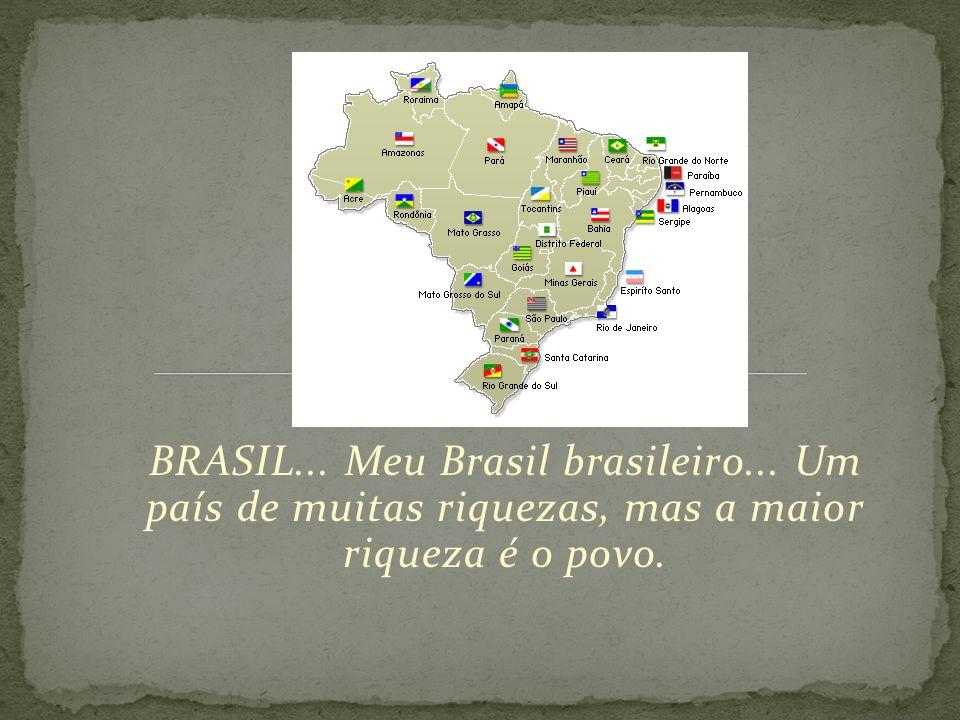 BRASIL. Meu Brasil brasileiro